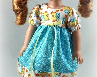 Sale14.5 Inch Doll Clothes -Dress fits Dolls Like Wellie Wishers Doll Clothes