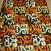 Adinkra Symbol Fabric per yard, Orange and Black  Sankofa fabric, Special Occasions, Ghanaian symbol fabric/ African Textiles