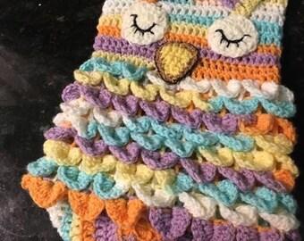 Owl Baby Cocoon Blanket, Newborn Cocoon Wrap, Baby Owl Snuggly, Crochet Owl, Owl Baby Photo Prop
