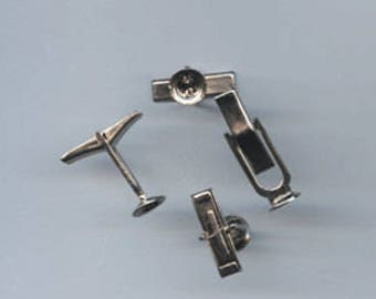 Cuff Link base (quanity 10)