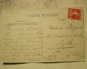 Les Alpes - Briancon - 1912 - Antique French Postcard