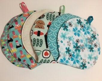 Japanese Theme Baby Burp Cloths - Mad Burps - Single or Set of 3