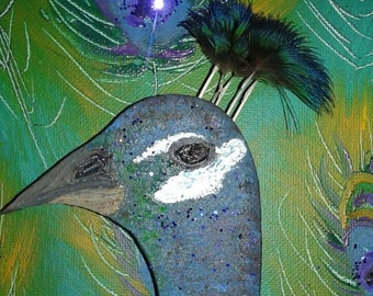 Peacock 3D Painting