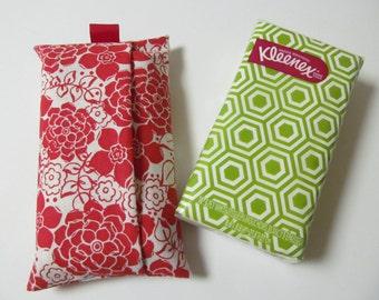 Tissue Case/Red Flower