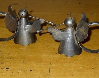 Vintage Angel Napkin Rings- Christmas - Holiday Season - Angels