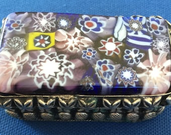 Trinket box with Ceramic Top