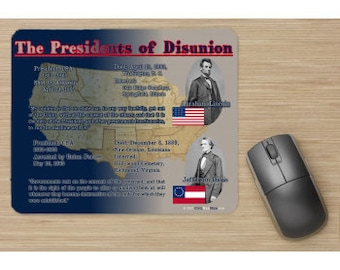 The Presidents of Disunion Mousepad