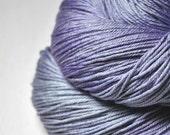 Fading dream on a cloud OOAK - Merino/Silk Fingering Yarn Superwash