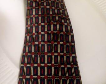 vintage Men's Tie, polyester, dead stock, never worn