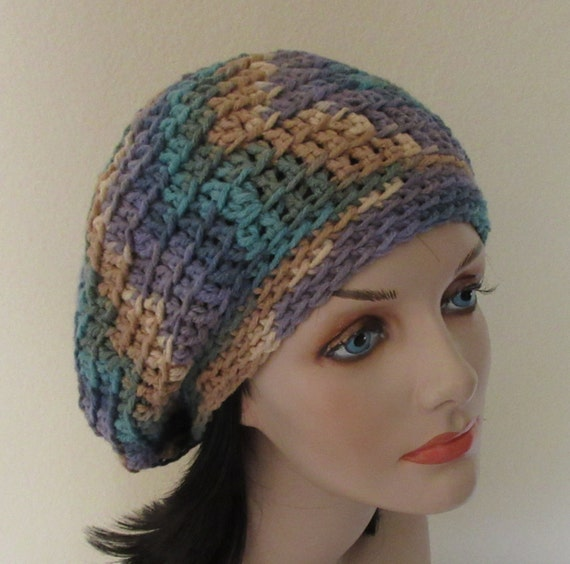 Slouchy Hat, Crochet Slouchy Hat, Cold Weather Accessory, Womens Slouch Hat, Beret, Tam, Boho Slouchy Hat, Slouch Beanie