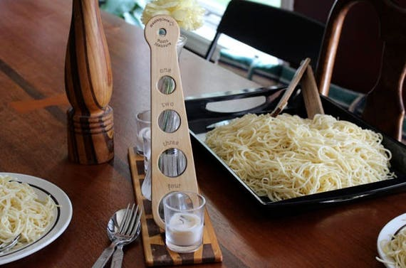 Pasta Measurer, Wooden, Made to Last, Solid Hard Maple, Paul Szewc, Masterpiece Gallery