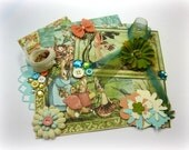 G45 Once Upon a Spring Inspiration Kit, Embellishment Kit, Life Project Kit for Scrapbooks Cards Mini Albums and Paper-crafts