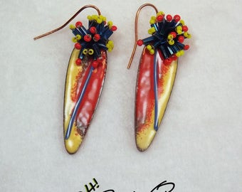 Baby You Are Fireworks earrings
