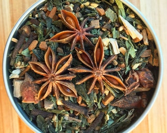 Green Tea Chai - Delicious and healthy energy boost