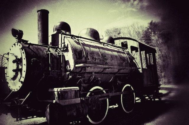 Train Print Vintage Train graphy Train Decor