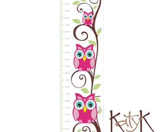 Owls in a Tree - Growth Chart