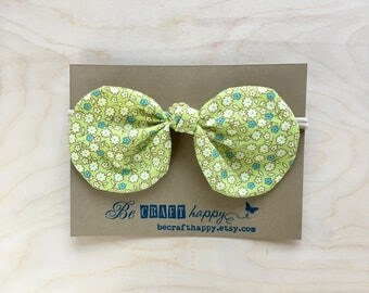 Bow Headband - Floral Bliss