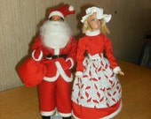 Santa and Mrs. Claus Barbie Costumes