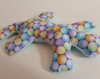 Pain Reliever Hot/ Cold Herbal Therapy Lizard with Multi Polka Dot Print