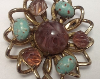 Vintage Signed Reinad 5th Ave NY Brooch FREE SSHIPPING