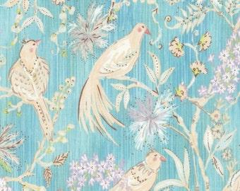 Kimono Robe. Bridesmaid Robes. Dressing Gown. Birds in Paradise.