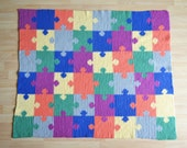 Crochet Puzzle Blanket Pattern