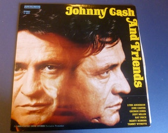 Johnny Cash And Friends Vinyl Record C 10777 1972