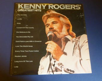 Kenny Rogers Greatest Hits Factory Sealed Vinyl Record LP LOO-1072 Liberty Records 1980