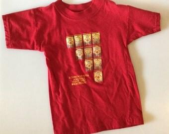 Vintage Kids MACHUPICCHU Peru T-Shirt // Size 2T