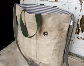 DISANTO - reconstructed vintage duffle bag, messenger