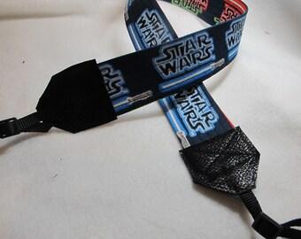 Star Wars Lightsaber Camera Strap   The Force  Jedi  Rebel Alliance