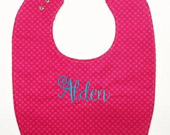 Personalized Baby Gifts, Personalized Baby Girl Gift, Baby Bib, Personalized Gift, Baby Bibs, Baby Girl Gift, Baby Girl Bibs, Handmade Baby