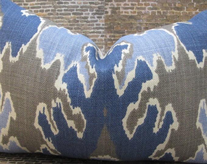 Designer Pillow Cover - KW Groundworks Lee Jofa Bengal Bazaar