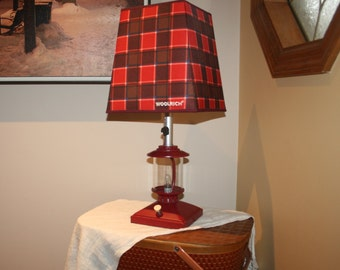Cabin Lamp Shade Etsy