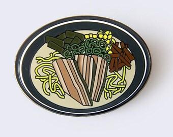 Ramen Enamel Pin (Tonkotsu)
