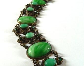 Antique Art Nouveau French Bracelet