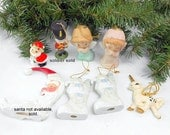 RESERVED SOLDIER  porcelain ornament collection santa angels unicorn  Christmas stockings vintage ornament collection wedding housewarming