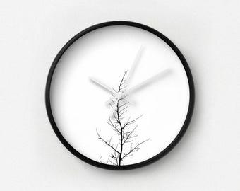 Forlorn Tree Photography Wall Clock