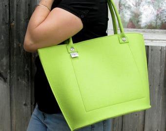Designer Felt Everyday Tote Bag