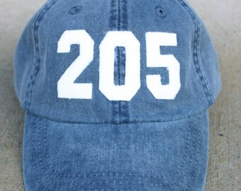 Area Code baseball cap