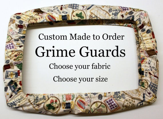 Custom - Choose Your Fabric Made to Order Grime Guard Qsnap Cover