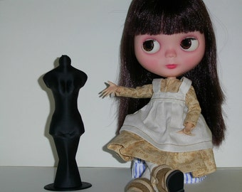 OOAK Blythe Doll Dress Form Display