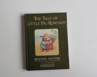 The Tale of Little Pig Robinson by Beatrix Potter | children's classics vintage book | Beatrix Potter children's books