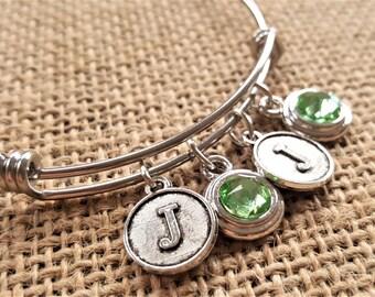 Twins Bracelet - Mom Bracelet - Mum Bracelets -Mother Bracelet -Grandma Bracelet -Birthstone Bracelet -Multiples Bracelet -Multiples Jewelry