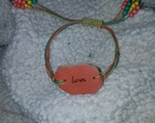 Leather Love Bracelet