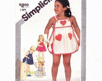 Simplicity 5467 Toddlers and Childs Sundress and Panties four styles Size 2 Toddler Uncut