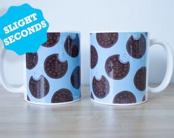 SECONDS - Oreo Cookie Mug - Biscuit Mug - Biscuit Gift