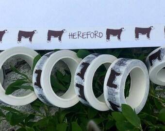 Hereford Washi Tape