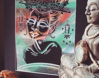 EMBRYO Art Print