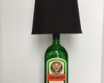 Liquor Bottle Lamp 1.75L Jagermeister